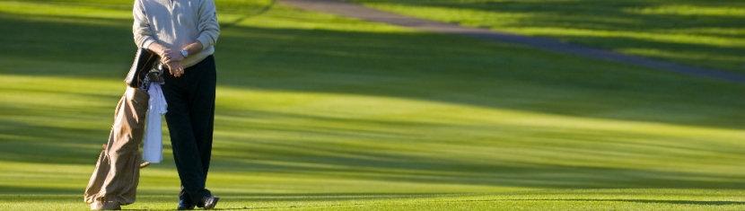 Tas Golf Kulit